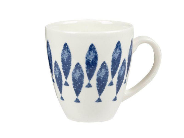 Churchill China Couture Fishie Upstream Crush Mug 500ml