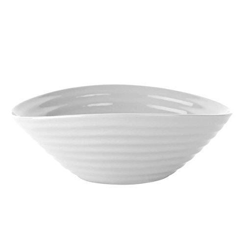 Portmeirion Sophie Conran Grey Cereal Bowl 18.5cm (Set of 4)