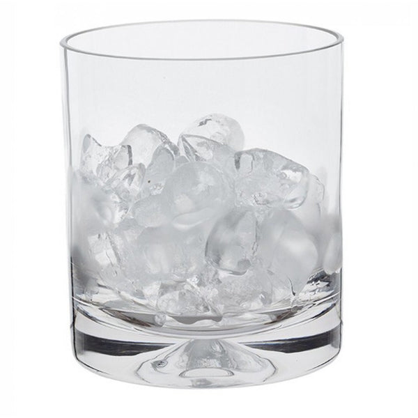 Dartington Crystal Dimple Ice Bucket 14cm x 12.8cm + Tongs [C]