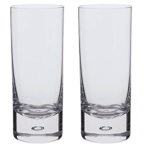 Dartington Crystal Exmoor Highball Tumbler Pair 39cl
