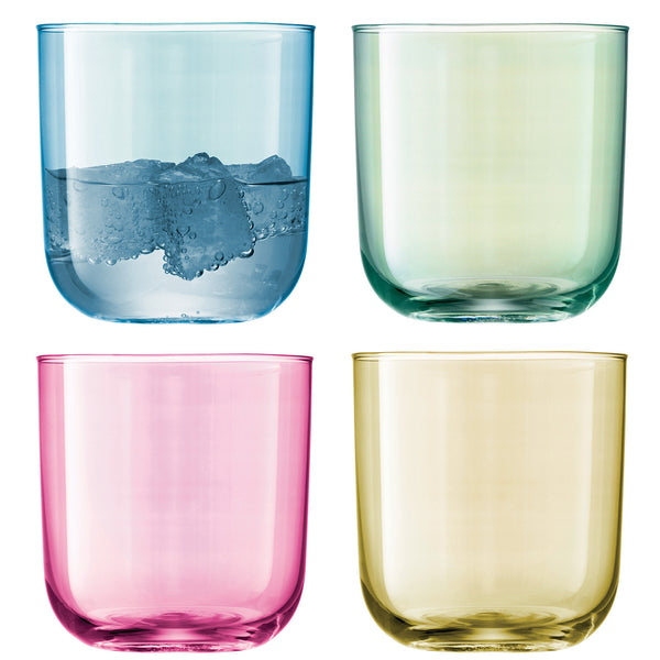 LSA Polka Pastel Vodka Glass 0.06L (Set of 4)