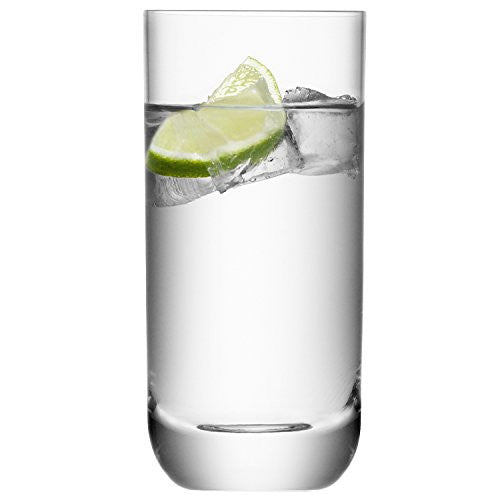 LSA Una Clear Highball Tumbler 400ml