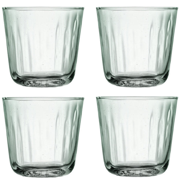 LSA Mia Clear Set of 4 Tumblers 250ml