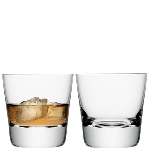 LSA Madrid Clear Tumbler Pair 270ml