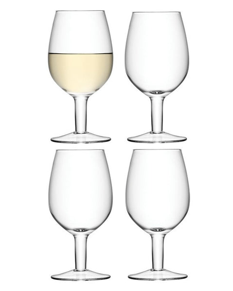 LSA Wine Clear Wine Glasses 425ml (Set of 4)