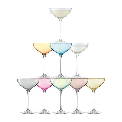 LSA Tower Assorted Champagne Set (Set of 10)