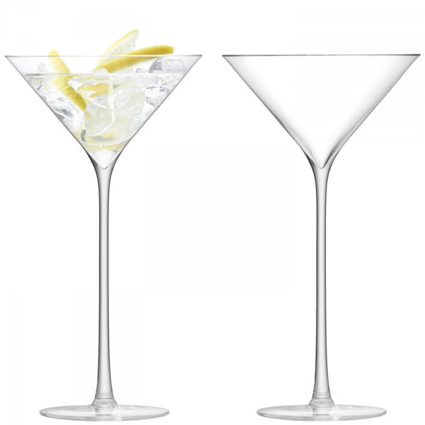 LSA Celebrate Clear Martini Glass 0.23L (Pair)