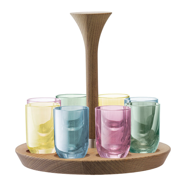 LSA Polka Pastel Vodka Set