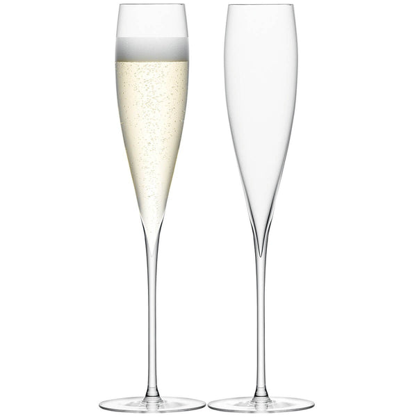 LSA Savoy Clear Champagne Flute 0.20L (Pair)