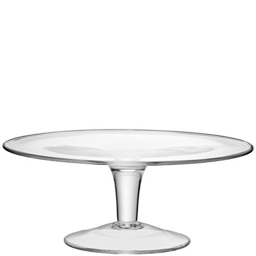 LSA Serve Clear Cake Stand 31cm
