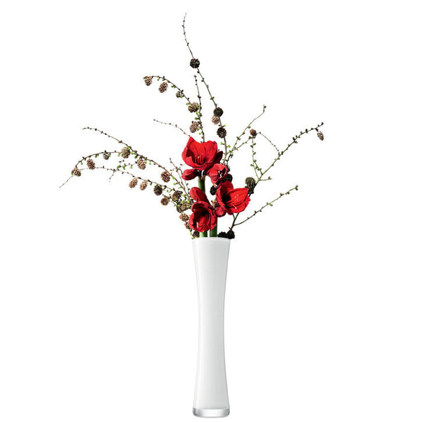 LSA Flower Colour White Vase 48cm