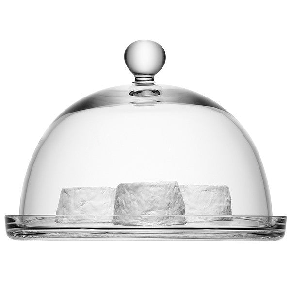 LSA Vienna Clear Cake Stand 25cm by 18cm