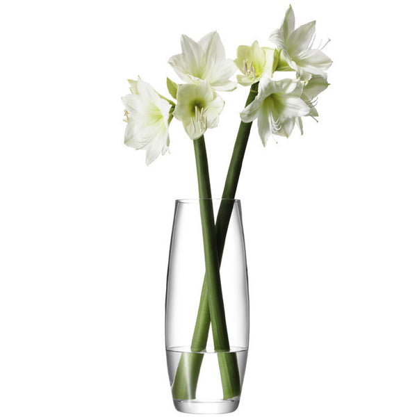 LSA Flower  Clear Grand Stem Vase 41cm