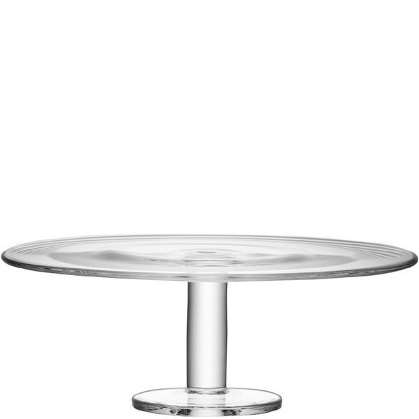 LSA Konstantin Clear Cake Stand 40cm