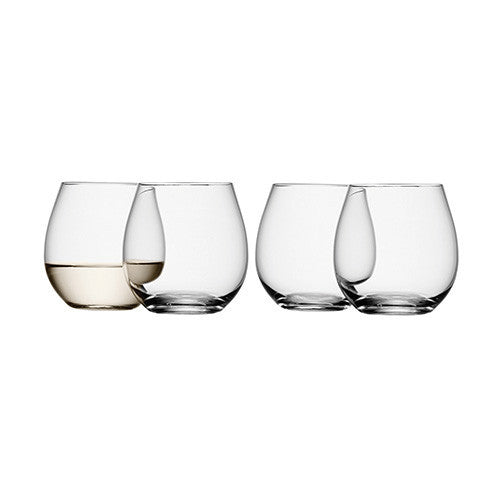 LSA Wine Stemless White Wine Glass 037L (Set of 4)