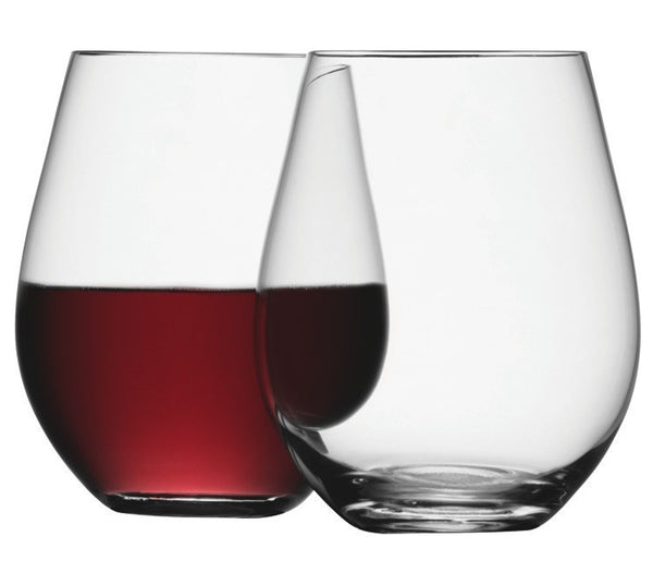 LSA Wine Clear Red Wine Glasses 530ml (Set of 4)