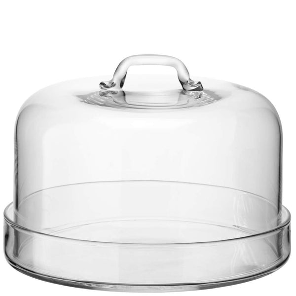 LSA Serve Clear Cake Stand 24cm