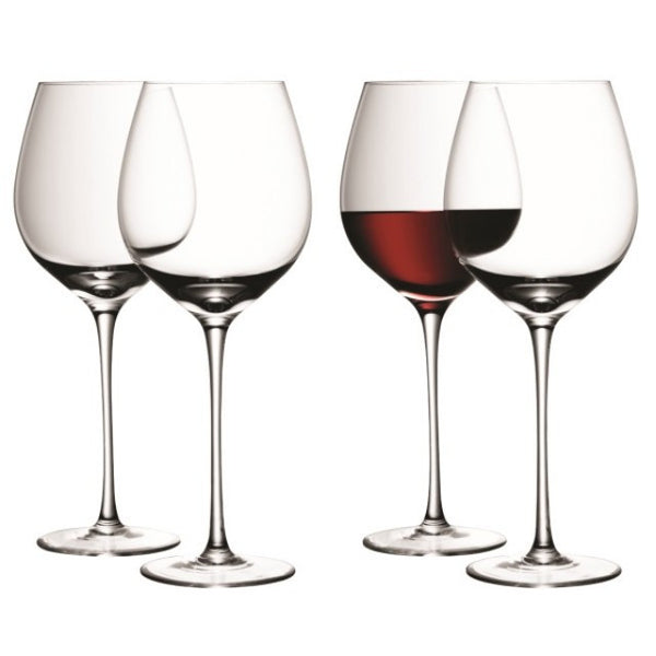 LSA Wine Clear Red Wine Glasses 750ml (Set of 4)