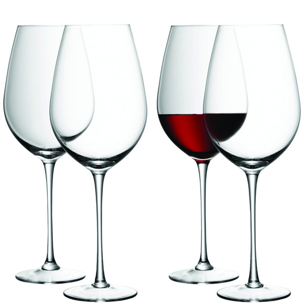 LSA Wine Clear Red Wine Glass 0.85L (Set of 4)