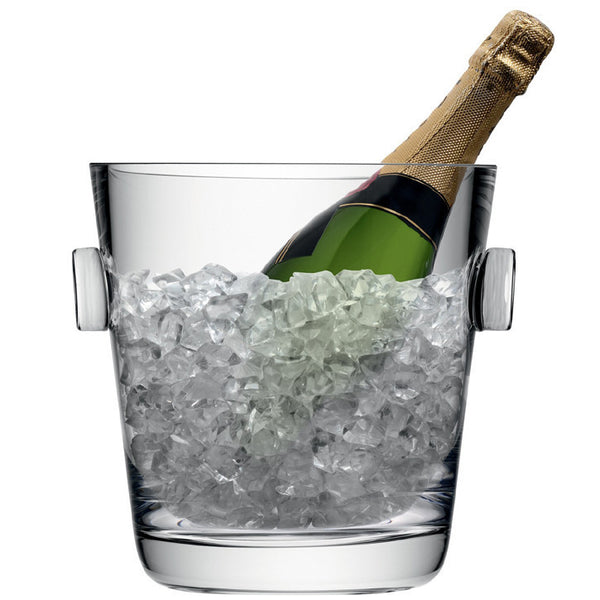 LSA Madrid Clear Ice Bucket 25cm  [C]