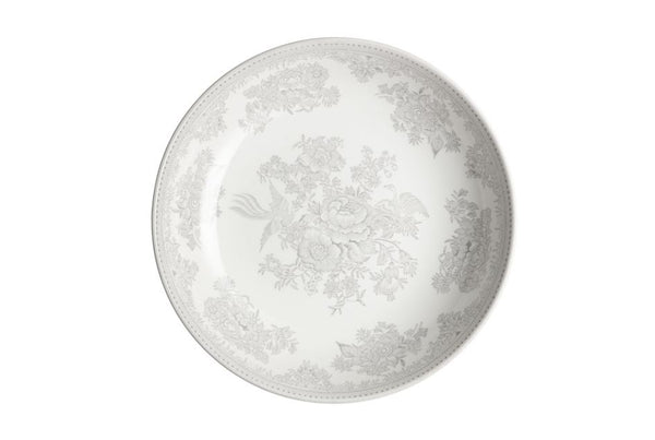 Burleigh Dove Grey Asiatic Pheasants Pasta Bowl
