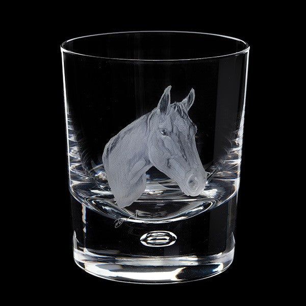 Royal Brierley Engraved Horse Tumbler 30cl [C]