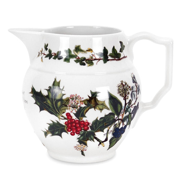 Portmeirion Holly And Ivy Staffordshire Jug 1pt