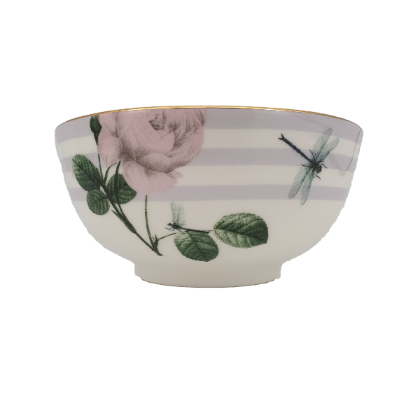 Portemirion Ted Baker Rosie Lee Rice Bowl Lilac 5""