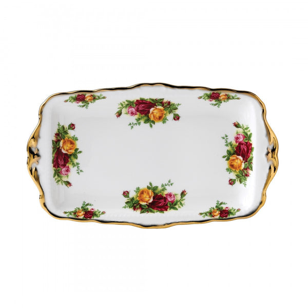 Royal Albert Old Country Roses Sandwich Tray 30 by 17.5cm