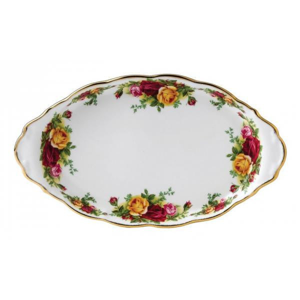 Royal Albert Old Country Roses Sugar and Cream Tray 29 by 17cm