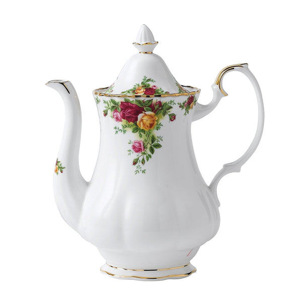 Royal Albert Old Country Roses Coffee Pot 1.25L