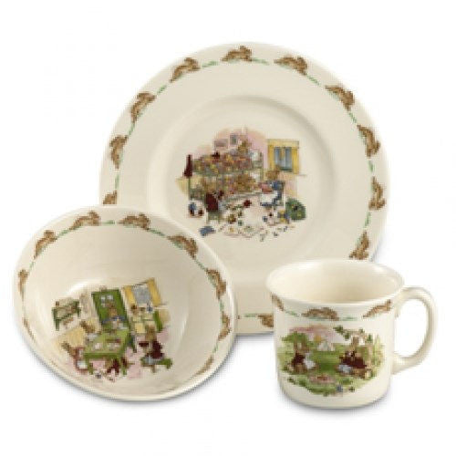 Royal Doulton Bunnykins Nurseryware Children's Set