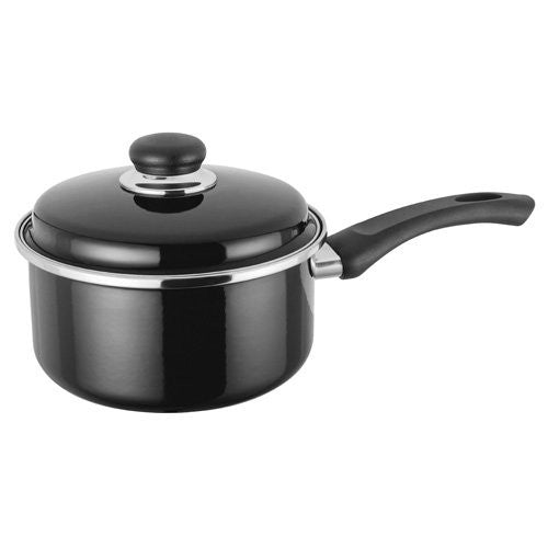 Judge Induction Black Saucepan 18cm