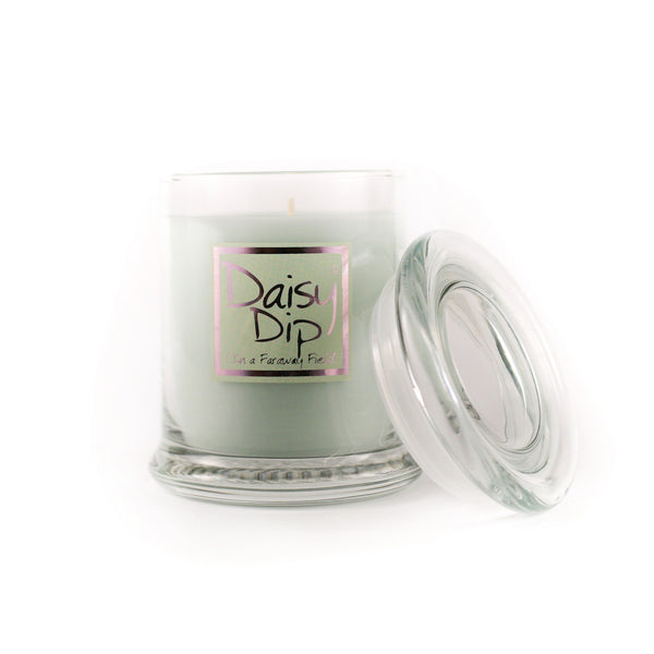 Lily Flame Daisy Dip Candle Jar