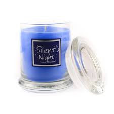 Lily Flame Silent Night Candle Jar