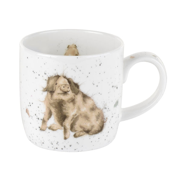 Royal Worcester Wrendale Designs Truffles Mug 0.31L