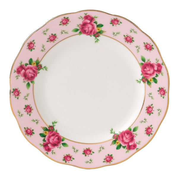 Royal Albert New Country Roses Pink Vintage Tea Plate 16cm