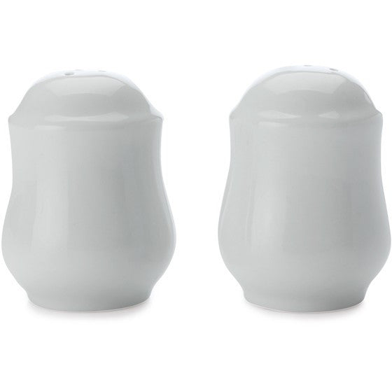 Maxwell and Williams White Basics Salt and Pepper Shakers