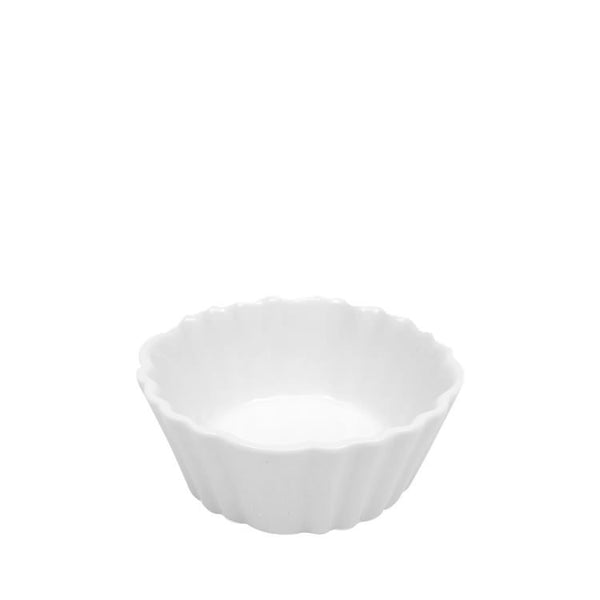 Maxwell and Williams White Basics Fluted Flan Dish 9cm by 4cm