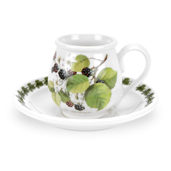 Portmeirion Pomona Cofffee Cup and Saucer 0.10L