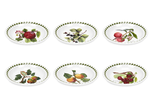 Portmeirion Pomona Soup Plate 20cm - Set of 6