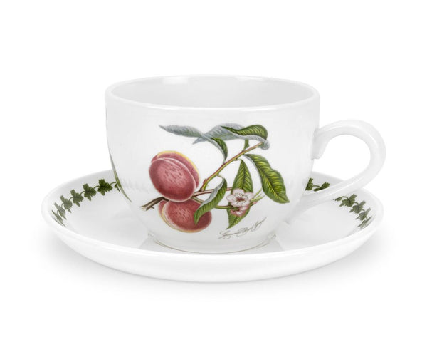 Portmeirion Pomona Jumbo Cup and Saucer 0.50L