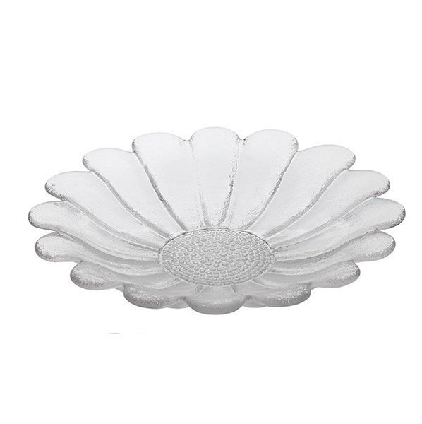 Dartington Crystal Daisy Fruit Platter 32.5cm