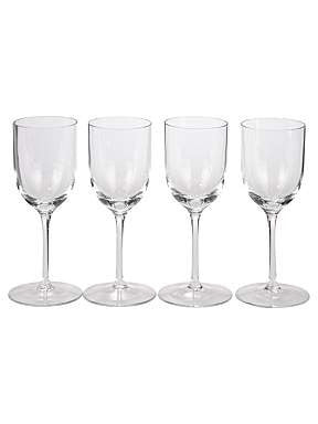 LSA Bar Clear Set of 4 Port Glasses 190ml