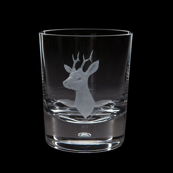 Royal Brierley Engraved Roebuck Deer Tumbler 0.30L