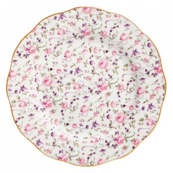 Royal Albert New Country Roses Confetti Salad Plate 20cm