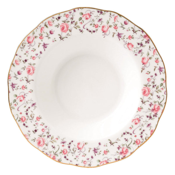Royal Albert New Country Roses Confetti  Vintage Soup Plate 24cm