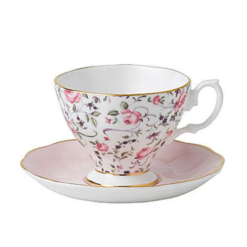 Royal Albert New Country Roses Confetti  Vintage Espresso Cup an