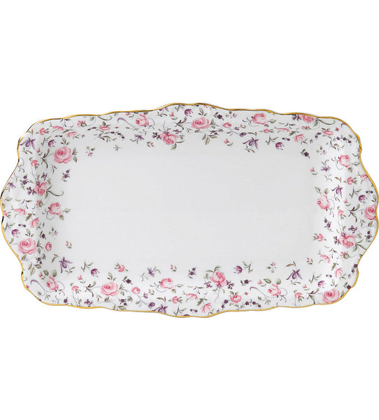 Royal Albert New Country Roses Confetti  Sandwich Tray