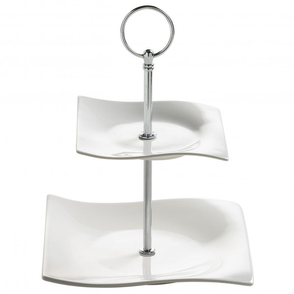 Maxwell and Williams Motion 2 Tier Cup Cake Stand